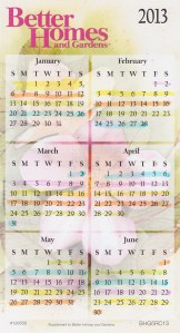 Zone Calendar